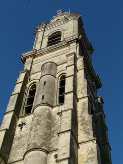 The belfry of Cambrai, the old bell tower of the Church of Saint Martin, symbol of communal freedoms