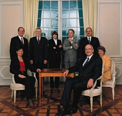 In 2003, by granting the Swiss People's Party a second seat in the governing cabinet, the Parliament altered the coalition which had dominated Swiss politics since 1959.