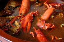 A lobster stew from Menorca, 2009