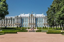 The Catherine Palace by Bartolomeo Rastrelli (1752-)