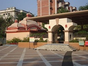 Courtyard of the Dhakeshwari National Temple