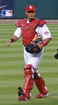 Yadier Molina has played for the St. Louis Cardinals since 2004.