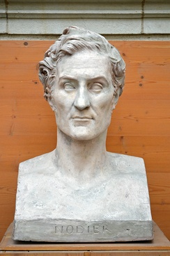 Bust of Charles Nodier by David d'Angers (1845).