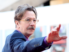 Oldman at the London premiere of Tinker Tailor Soldier Spy in October 2011