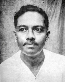 The most widely used portrait of Jibanananda Das (date unknown)