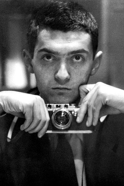 Stanley Kubrick, aged 21, self portrait from 1949
