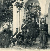 Soldiers in Mount Lebanon during the mutasarrif period