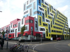 University Square, Southend, student accommodation