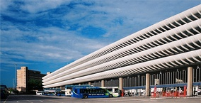 After two unsuccessful proposals to demolish Preston bus station (Lancashire, UK), it gained Grade II listed building status in September 2013