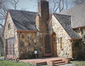 Located a short distance from the Wilder farmhouse in Mansfield, Missouri is the Rock House which Lane purchased for her parents, who resided there during much of the 1930s