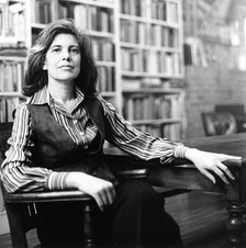 A seated Susan Sontag in 1979