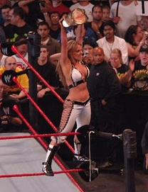 Stratus is a seven-time WWE Women's Champion