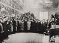 Николай II посещает Путиловский завод