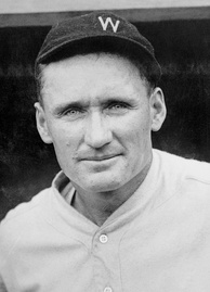 Walter Johnson won three American League pitching Triple Crowns with the Washington Senators.