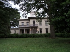 William T. Sutherlin Mansion, Danville, Virginia, temporary residence of Jefferson Davis and dubbed Last Capitol of the Confederacy