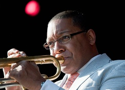 Wynton Marsalis performing in 2009