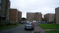 Medium-rise blocks of flats in York Place