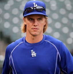 Greinke with the Los Angeles Dodgers in 2015