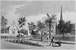 St. Augustine in 1858