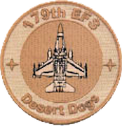 179th Expeditionary Fighter Squadron patch
