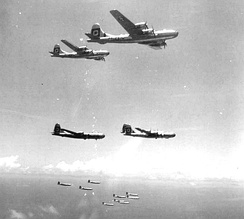 29th Bombardment Group B-29 Formation 1945