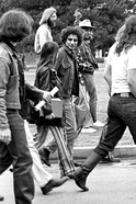 Abbie Hoffman, co-founder of the Youth International Party