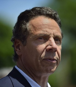 Andrew Cuomo, the 56th and current governor of New York