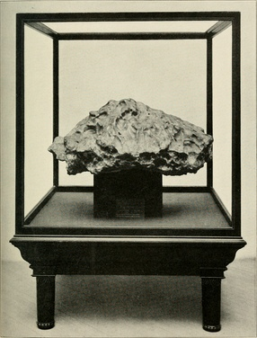 Tonopah (Nevada) Meteorite. Weight 3,275 lbs.