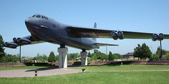 B-52G on static display at Langley Air Force Base in Hampton, Virginia