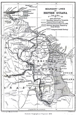 British Guiana and its boundary lines, 1896
