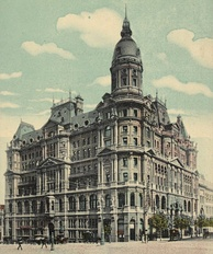 Federal Coffee Palace, one of many grand hotels erected during the boom