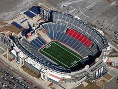 Gillette Stadium has been New England Revolution's home stadium since 2002