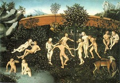 The Golden Age (c. 1530) by Lucas Cranach the Elder.