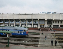 Main station of Grodno