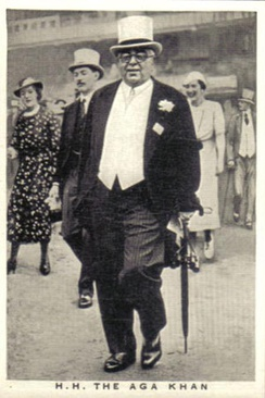 Aga Khan III in 1936.