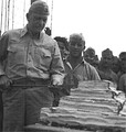 Harry B. Liversedge with the Marine Raiders in 1943