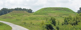 Mounds at Ocmulgee National Monument, Bibb County, GA, US.jpg