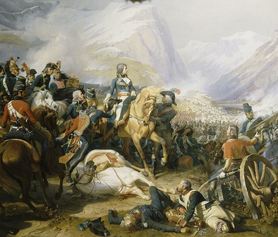 Bonaparte defeats Austrians at the Battle of Rivoli (January 14, 1797 )