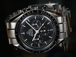 The Omega Speedmaster, selected by U.S. space agencies
