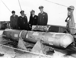 The thermonuclear bomb that fell into the sea recovered off Palomares, Almería, 1966