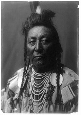"Plenty Coups Edward Curtis Portrait (c1908). When the Crows got news from the battlefield, they went into grief. Crow woman Pretty Shield told how they were ""crying ... for Son-of-the-morning-star [Custer] and his blue soldiers ...""[93] With the defeat of Custer, it was still a real threat that the Lakotas would take-over the eastern part of the Crow reservation and keep up the invasion. In the end, the army won the Sioux war. Crow chief Plenty Coups recalled with amazement, how his tribe now finally could sleep without fear for Lakota attacks. ""... this was the first time I had ever known such a condition.""[94]"
