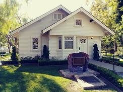 Nixon's birthplace in Yorba Linda, California