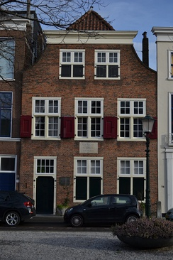 Spinoza House in The Hague, where the philosopher Spinoza lived from 1670 until his death in 1677.