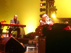 Steely Dan, shown here in 2007, toured frequently after reforming in 1993.