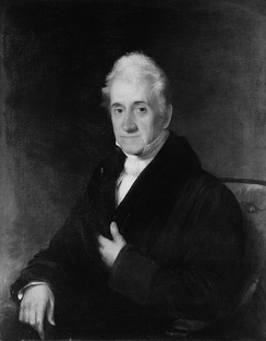 Portrait of Van Rensselaer by Chester Harding, 1828