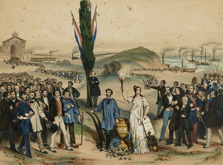 The establishment of universal male suffrage in France in 1848 was an important milestone in the history of democracy.