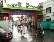 Kya-Kya or Kembang Jepun, Surabaya's Chinatown, one of oldest Chinatown in Indonesia