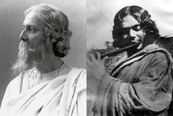Rabindranath Tagore is Asia's first Nobel laureate and composer of Jana Gana Mana the national anthem of India as well as Amar Shonar Bangla the national anthem of Bangladesh and Kazi Nazrul Islam the national poet of Bangladesh.
