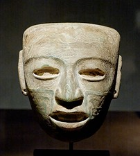 Marble mask, 3rd–7th century
