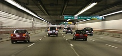 Interstate 93 through the O'Neill Tunnel